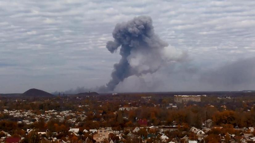 В центре Донецка началась стрельба