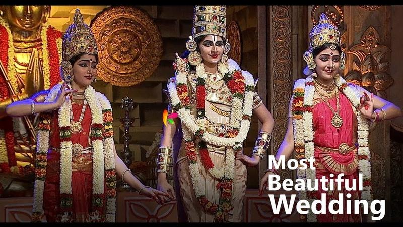 Indias Most Beautiful Wedding Ever - Tirupati Balaji, Sridevi and Bhudevi    Kavasam Bhakthi