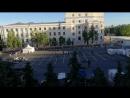 Футбол на Советской площади