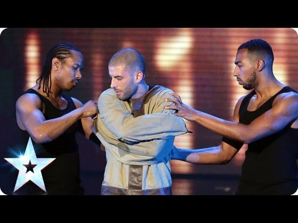 Darcy Oake's Jaw-dropping escape   Britain's Got Talent 2014 Final
