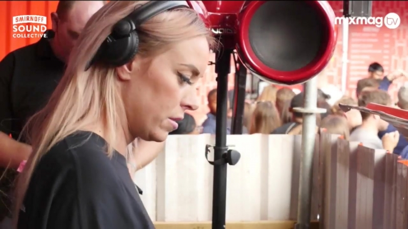 SAM DIVINE rolling house set in The Lab at smirnoffhouse 2016