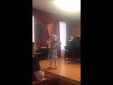Елена Румянцева. В.А. Моцарт - Алегретто, 16 мая 2018 г