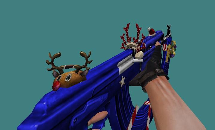 [CS 1.6] Модель - AK47 Long XMAS