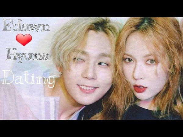 Hyuna Pentagon E'dawn Moments As A Lover (Confirmed to be dating for 2 years 💞)