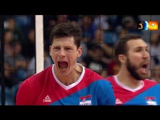 Best Middle Blocker-- Srećko Lisinac - world star of the Serbian volleyball -