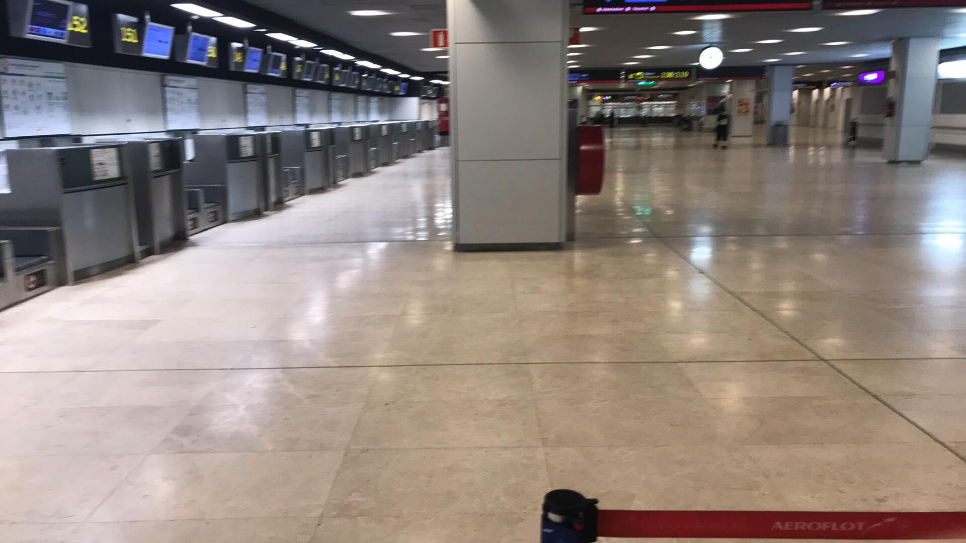 Аэропорт Мадрида отзывы
