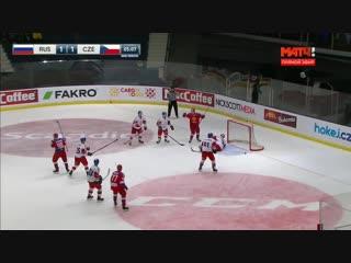 Шведские хоккейные игры-2019. Россия - Чехия. Все голы