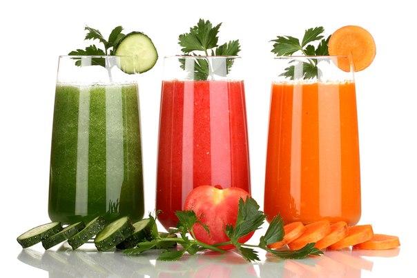 сыроедение и овощные соки