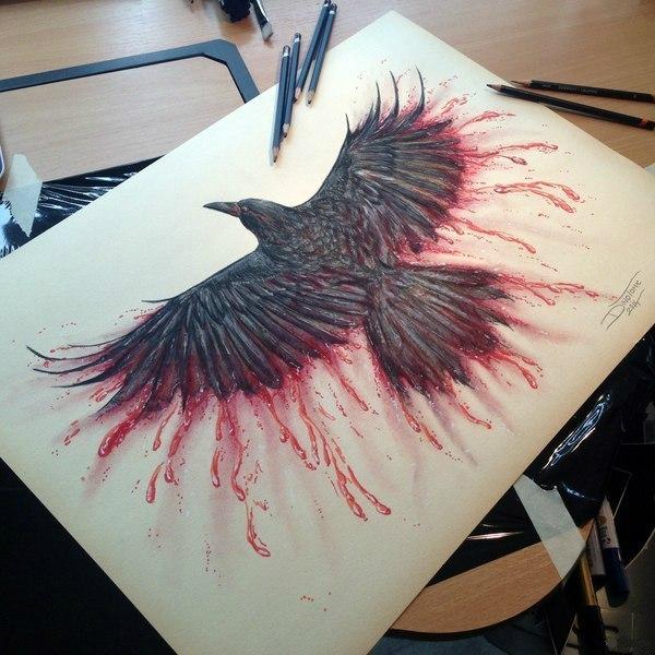 Невероятно красивый рисунок карандашом