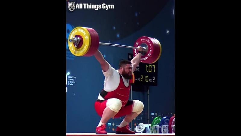 Лаша Талахадзе рывок 210 кг