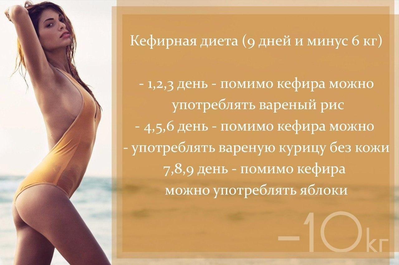 10 дней диета минус 10 кг