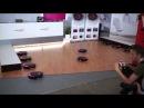 Танец роботов-пылесосов LG HOM-BOT Square