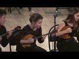 Светлячки - УНИСОН ДОМРИСТОВ Unison of domrists plays Romanian folk dance