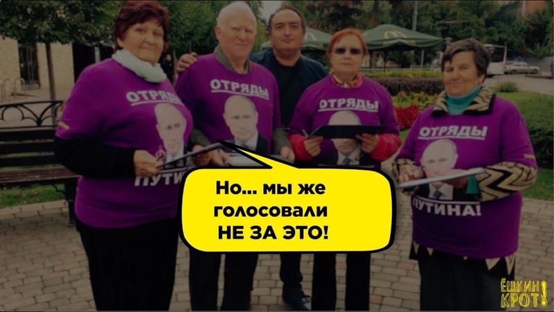 За что проголосовали избиратели Путина?