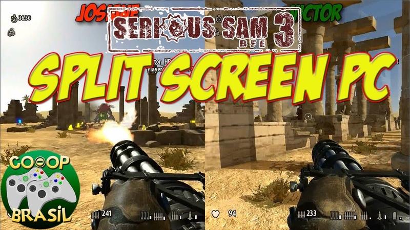 Serious Sam 3 BFE - Survival Co-Op Split Screen PC   PT-BR