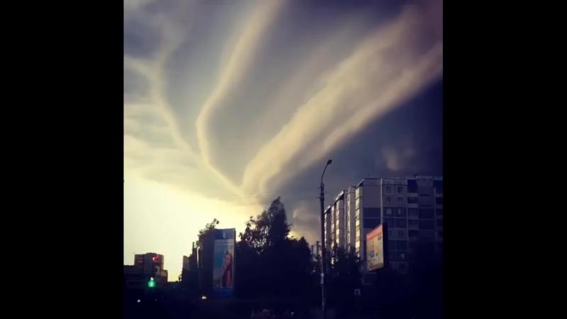 Ураган в Барнауле, как фильм-катастрофа 23.06.2018