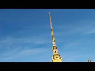 21 ноября 2018. Полуденный залп из пушки Петропавловской крепости!