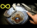 Нанесите ЭТО на тормозные диски и ВЫ забудете про ИЗНОС и СКРИП Реальный ТЕСТ