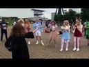 Longer Version Hermione Granger cosplay dancing to Mario Bros theme remix DANCING HERMIONE