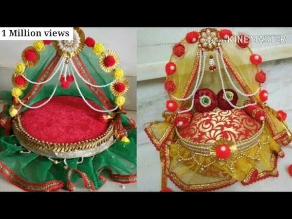 How to make kanha ji bed    kanha ji bed making    Bal gopal bed