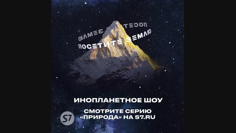 S7 Airlines Инопланетное шоу «Посетите Землю»