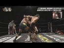 Masahiro Takanashi, Saki Akai vs. Riho, Toru Owashi DDT Live! Maji Manji 7