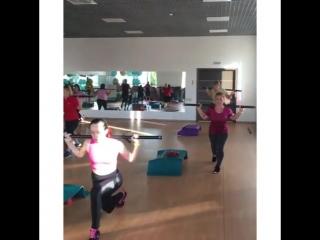 Горячая 🔥тренировка Body Condition🏋🏼♀️ прямо сейчас!💥под руководством нашего мастер-тренера Романа Лунева💪🏼 #зож💪 #спорт #фитне