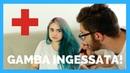 Situazioni da GAMBA INGESSATA Brian Amato feat Murielboom