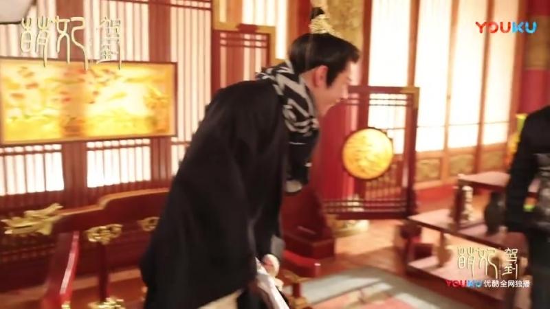 веселые моменты съёмок / видео из блога 萌妃驾到