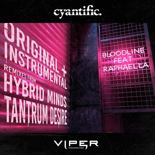 Cyantific альбом Bloodline (feat. Raphaella) [Club Master]