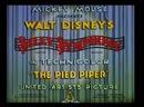 Дудочник в пёстром костюме 1933 09 16 SS The Pied Piper