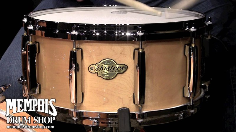 Pearl 14 x 6.5 Masters MCX Maple Snare Drum