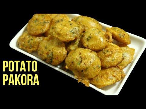 Aloo Ki Pakora Recipe In Bangla By Nian's Cooking Diary Potato Fritters Potato Pakora