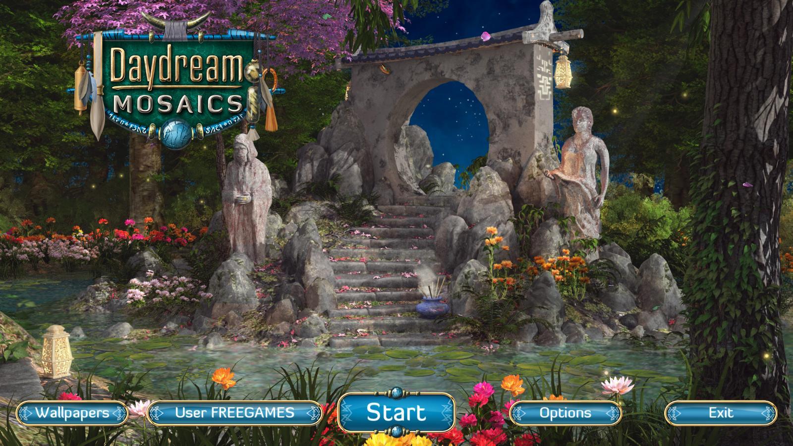 Сны наяву Мозаика | Daydream Mosaics (En)