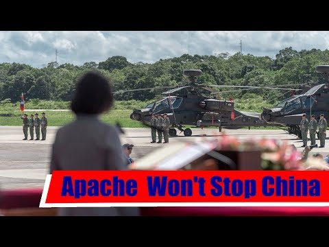 Why Taiwans New Apache Helicopter Brigade Wont Stop China