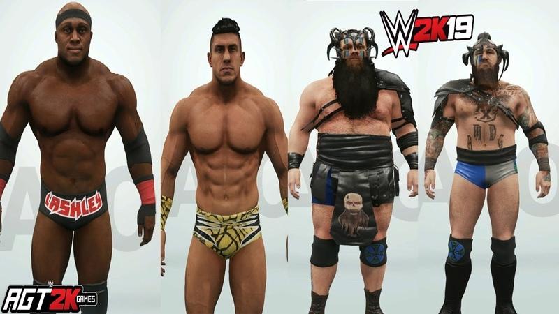 AGT - WWE 2K19 | Titans Pack DLC - RATINGS IN-GAME MODELS! (Bobby Lashley, EC3 War Raiders)