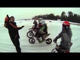 Питбайк JMC Ice Battle Тренировка Pitbike Jazz Moto 2014
