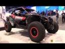 2018 Can Am Maverick X3-X RS Turbo R Flowmaster Custom ATV - Walkaround - 2017 SEMA Las Vegas