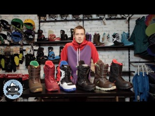 Обзор ботинок Burton Invader, Ruler и Moto