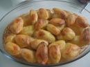 Картошка половинками в духовке