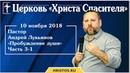 10 ноября 2018. Андрей Лукьянов - Семинар Пробуждение души - Часть 3-1
