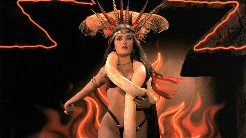 Танец Сальмы Хайек От заката до рассвета (1996) Full HD 1080p