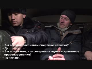 ППСП: Максим Тохтоев и Сергей Захаров доставили нетрезвого гражданина в отдел полиции