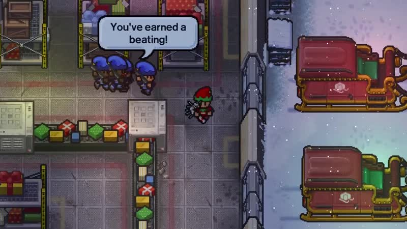The Escapists 2 - Snow Way Out (Steam, PS4, Xbox One, Nintendo Switch)