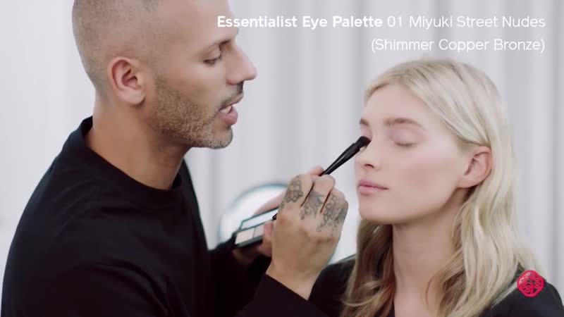 Daytime Look Tutorial with Vincent Oquendo ft. Elsa Hosk _ Shiseido Makeup
