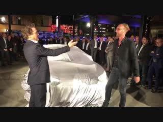 Роберт Дауни-младший на презентации #Audi e-tron GT