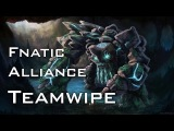 Alliance vs Fnatic Teamwipe | ASUS ROG DreamLeague