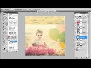 Florabella Complete Edit & Cloud Texture Tutorial - http://vk.com/youcancanon