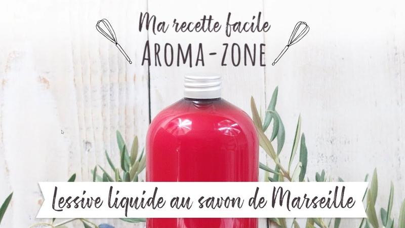 Lessive liquide au Savon de Marseille fruitée