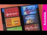 How to Organize Your Wallet, Credit Cards & Gift Cards (Организация кошелька, кредитных карт и открыток)